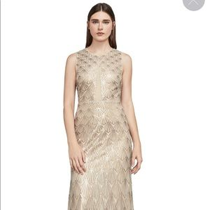 Patti Sleeveless Sequin Gown BCBG